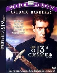 DVD O 13 GUERREIRO - ANTONIO BANDEIRAS