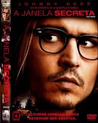 DVD A JANELA SECRETA - JOHNNY DEPP