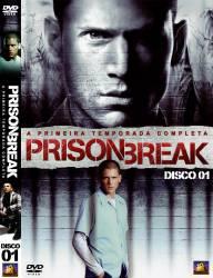 DVD PRISON BREAK - 1 TEMP - 6 DVDs