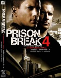 DVD PRISON BREAK - 4 TEMP - 6 DVDs