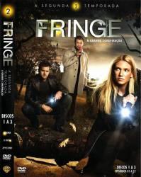 DVD FRINGE - 2 TEMP - 6 DVDs