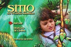 DVD SITIO DO PICA PAU AMARELO - MEMORIAS DE EMILIA