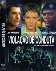 DVD VIOLAÇAO DE CONDUTA - JOHN TRAVOLTA