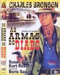 DVD AS ARMAS DO DIABO - CHARLES BRONSON - FAROESTE - 1964