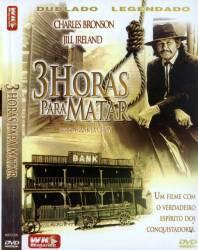 DVD 3 HORAS PARA MATAR - CHARLES BRONSON - FAROESTE - 1976
