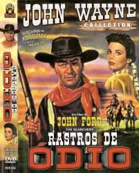 DVD RASTROS DE ODIO - JOHN WAYNE - FAROESTE - 1956