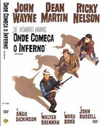 DVD ONDE COMEÇA O INFERNO - JOHN WAYNE