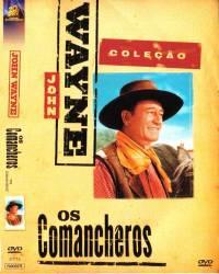 DVD OS COMANCHEROS - JOHN WAYNE - FAROESTE - 1961