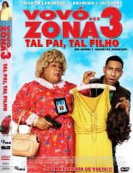 DVD VOVO ZONA - 3 - TAL PAI  - TAL FILHO