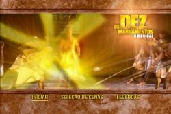 DVD OS DEZ MANDAMENTOS - MUSICAL