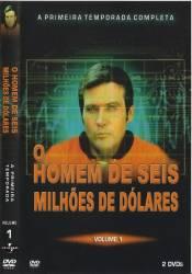 DVD O HOMEM DE 6 MILHOES DE DOLARES - 1 TEMP - 6 DVDs