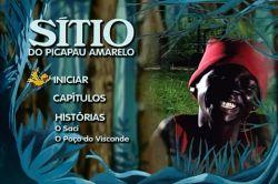DVD SITIO DO PICA PAU AMARELO - O POÇO DO VISCONDE E O SACI