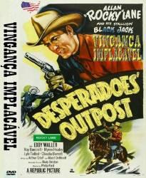 DVD ALLAN ROCKY LANE - VINGANÇA IMPLACAVEL - 1952