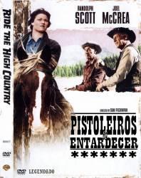 DVD PISTOLEIROS DO ENTARDECER - RANDOLPH SCOTT - FAROESTE - 1962