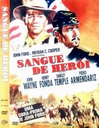 DVD SANGUE DE HEROI - JOHN WAYNE - FAROESTE - 1948