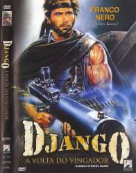 DVD DJANGO A VOLTA DO VINGADOR - FAROESTE - 1987