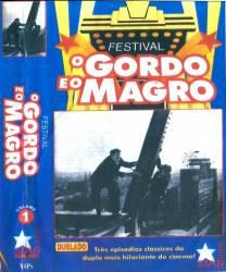 DVD O GORDO E O MAGRO VOL 1