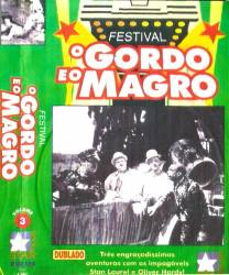 DVD O GORDO E O MAGRO VOL 3