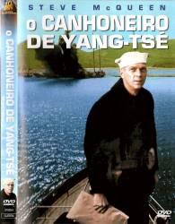 DVD O CANHONEIRO DE YANG-TSE - GUERRA - 1966