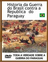 DVD TODA A VERDADE SOBRE A GUERRA DO PARAGUAI - 1987