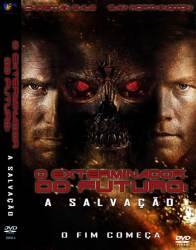 DVD O EXTERMINADOR DO FUTURO 4 - A SALVAÇAO - 2009