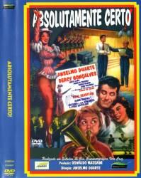DVD ABSOLUTAMENTE CERTO - NACIONAL - 1957
