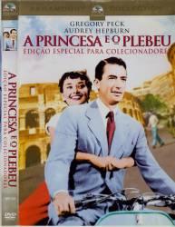 DVD A PRINCESA E O PLEBEU - GREGORY PECK - 1957
