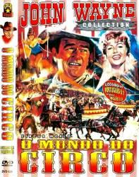 DVD O MUNDO DO CIRCO - FAROESTE - JOHN WAYNE - 1964
