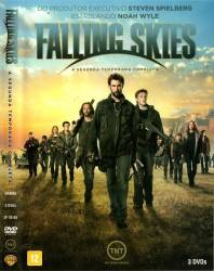 DVD FALLING SKIES - 2 TEMP - 3 DVDs