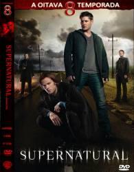 DVD SUPERNATURAL - 8 TEMP - 6 DVDs