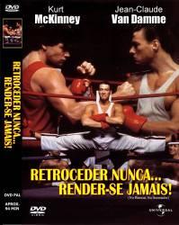 DVD RETROCEDER NUNCA RENDER-SE JAMAIS - VAN DAMME