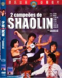 DVD 2 CAMPEOES DE SHAOLIN