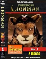 DVD PODEROSO LIONMAN - 7 DVDs - 1973