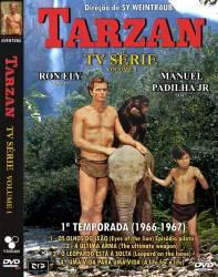 DVD TARZAN - RON ELY  - 1 TEMP - 1 PARTE - 4 DVDs