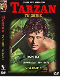 DVD TARZAN - RON ELY - 1 TEMP - 2 PARTE - 5 DVDs