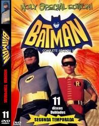 DVD BATMAN - ADAM WEST - 2 TEMP - 11 DVDs