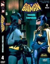 DVD BATMAN - ADAM WEST - 3 TEMP - 4 DVDs