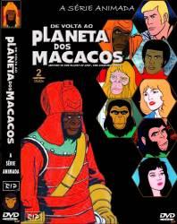 DVD PLANETA DOS MACACOS - DESENHO - 2 DVDs