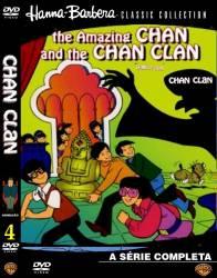 DVD CHARLIE CHAN - AS AVENTURAS DE - 4 DVDs - COMPLETO