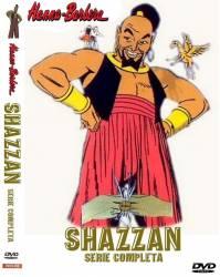 DVD SHAZZAN - SERIE ANIMADA - 4 DVDs