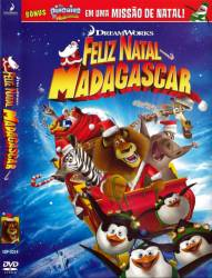 DVD MADAGASCAR FELIZ NATAL