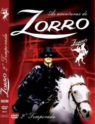 DVD ZORRO - GUY WILLIAMS - 2 TEMP VOL 1-5 - 1958
