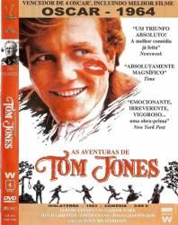 DVD AS AVENTURAS DE TOM JONES - 1963