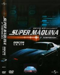 DVD SUPER MAQUINA - 2 TEMP - 8 DVDs - DUBLADA