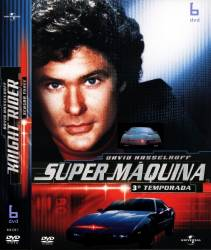 DVD SUPER MAQUINA - 3 TEMP - 6 DVDs - DUBLADOS