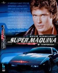 DVD SUPER MAQUINA - 4 TEMP - 6 DVDs - DUBLADA