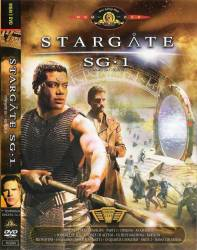 DVD STARGATE SG1 - 9 TEMP - 5 DVDs