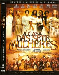 DVD A CASA DAS SETE MULHERES - 5 DVDs