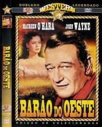 DVD BARAO DO OESTE - JOHN WAYNE - FAROESTE - 1963