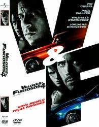 DVD VELOZES E FURIOSOS - 4